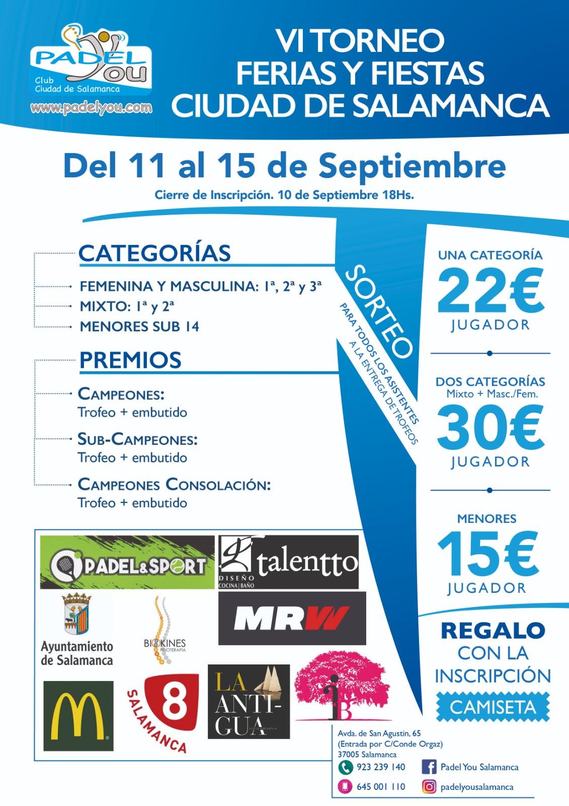 Cartel de Ferias 2019